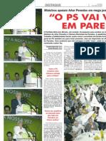 Mega-Jantar - O PS vai vencer em Paredes - Novas 9-09-09