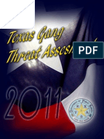 Texas Gang Threat Assessment 2011 Final