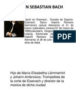 Johann Sebastian Bach Diapositivas