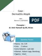 Case Dermatitis Atopik