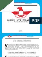ghidul voluntarului