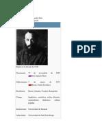 Mijaíl Bajtín biografía