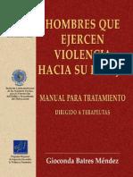 Manual Hombres Que Ejercen Violencia