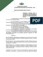 Portaria 332-2014 Ano Letivo - Matriz Curricular (1)