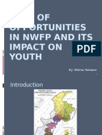 Lack of Opportunities in Nwfp and Its Impact on Youth