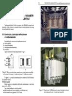 TRANSFORMATORUL ELECTRIC – PARAMETRI
