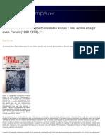 Littérature et identité postcoloniales kanak