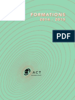 Programme de formations 2014