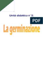 ud n°5 La germinazione