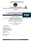 Single Order of SWISSINDO Trustees