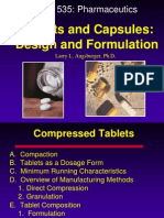 Tablet and Capsules