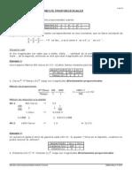 2ESO, Matemáticas La Proporcionalidad