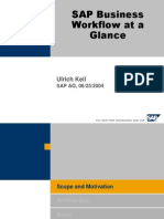 SAP Business Workflow at a Glance
