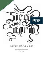 Siege and Storm Excerpt