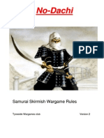 No-Dachi Samurai Skirmish Rules