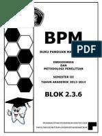 Bpm Blok 6 Pdg 2013