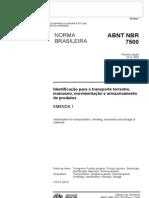NBR ABNT 7500-04