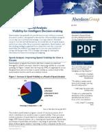 Aberdeen SpendAnalysis Review