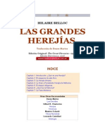 Hilaire Belloc-Las Grandes Herejias
