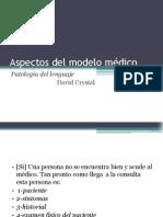 Aspectos del modelo médico-Exposición