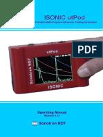 ISONIC UtPod Operating Manual Revision 1_12