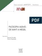 ANPOF XV3 - Filosofia Alema- De Kant a Hegel