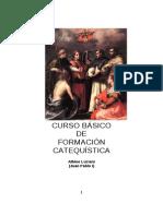 CURSO BÁSICO de CATEQUÍSTICA de Juan Pablo I (formato de folleto)
