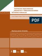Mariana Jesús Ortecho tesis Estrategias discursivas emergentes y Organizaciones Intersectoriales 2013