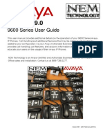 Avaya IP Office 9600 Desk Phone User Guide NEMTECHNOLOGY