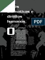ações afirmativas e direitos humanos