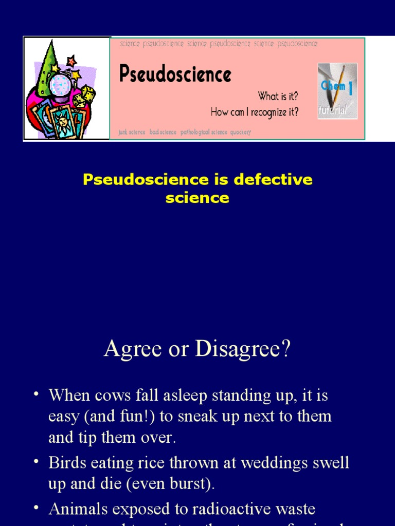 what is the difference between science and pseudoscience