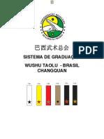 Sistema Graduacao Wushu Taolu Brasil Changquan