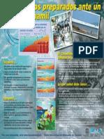 Tsunami Awareness Poster Sp Sm