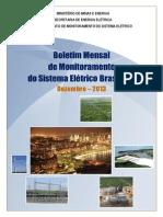 Boletim de Monitoramento Do Sistema Elxtrico - Dezembro-2013