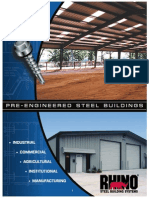 Rhino Steel Building Brochure