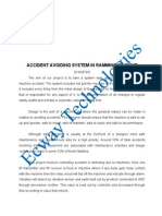Et0001 - Accident Avoiding System in Ramming Machine
