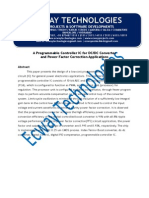 A Programmable Controller IC for DC DC Converter and Power Factor Correction Applications