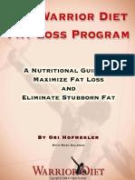 The Warrior Diet Fat Loss Plan