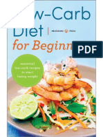 Low Carb Diet for Beginnerss