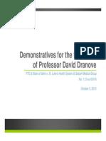 DemonstrativesProfessorDavidDranove FINAL PUBLIC