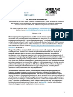 WIA Homeless System Innovation and Recommendations, February 2014