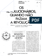 OS REVOLUCIONÁRIOS QUANDO NÃO FAZIAM A REVOLUÇÃO (1)