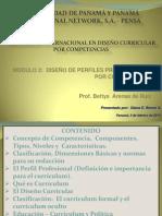 DISEÑO DE PERFILES PROFESIONALES POR COMPETENCIAS
