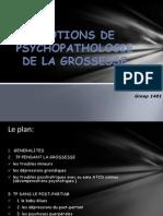 Psychopathologie de La Grossesse (1)