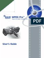MainConcept MPEG Pro HD V1.04 for Premiere Pro Manual