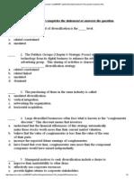 Www.csun.Edu ~Vcact00f 497CapStone SampleQuestions CH6 Sample Questions