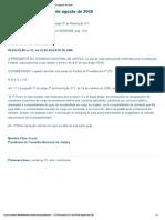 Portal CNJ - Resolução nº 21, de 29 de agosto de 2006