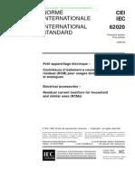 Iec 62020 Residual Curren Monitors Rcm