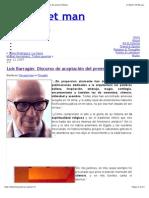 """Luis-Barragán-Discurso-de-aceptación-del-premio-Pritzker"""""""