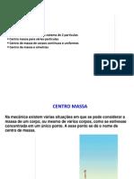 10 Centro de Massa